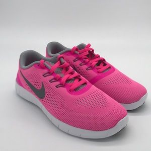 Brand new Nike pink free runs girls sizes to women